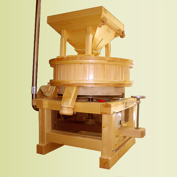 Commercial stone mills: Type A 1000