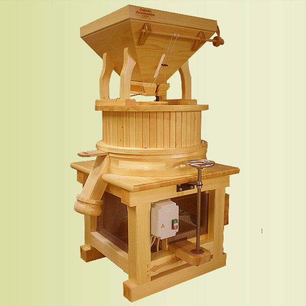 Commercial stone mills: Type A 500
