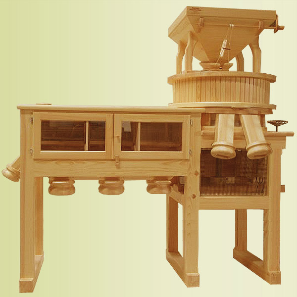 A 700 MSM S2 - stone mill - combi mill (2 outlets for flour)
